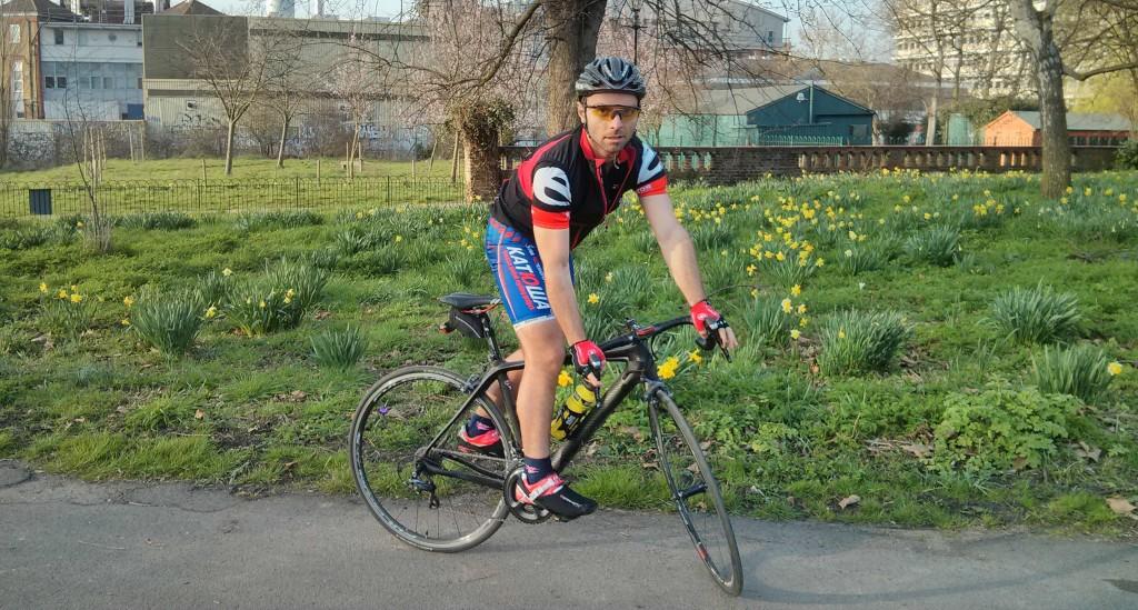 Kardeşimin verdiği ara gazı olmasaydı aklımın ucuna bile gelmeyecekti bisiklet almak.