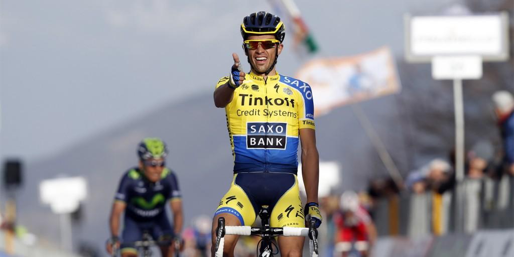 İspanyol pedal Alberto Cantador