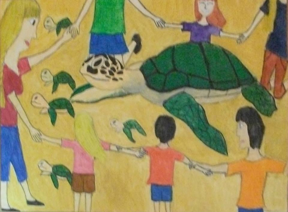 Fotoğraf Kaptan June Sea Turtle Conservation Foundation 'a aittir.