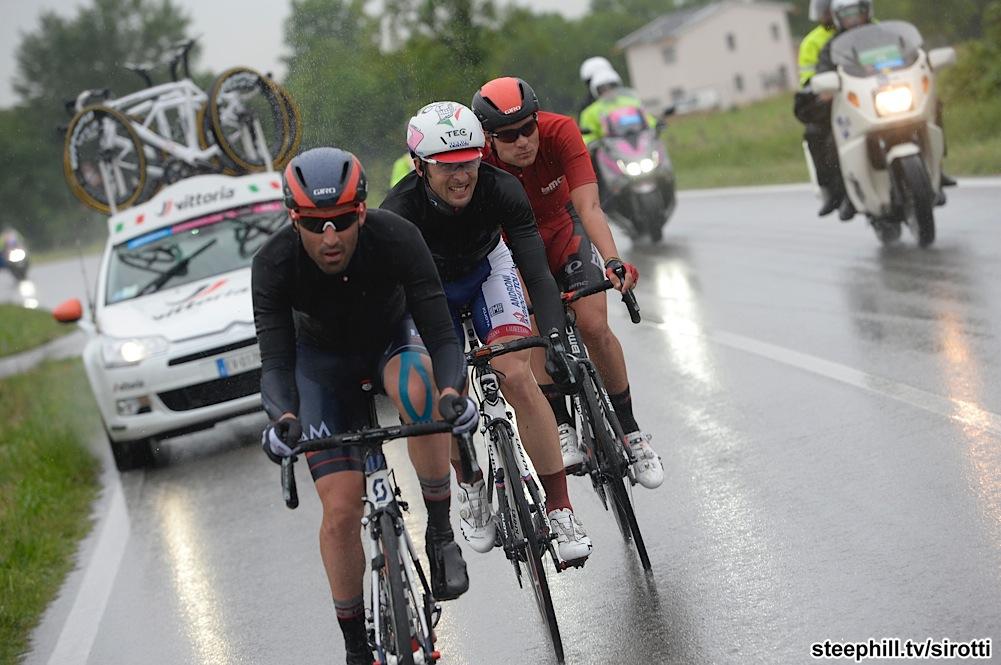 2015, Giro d'Italia, tappa 13 Montecchio Maggiore - Jesolo, Iam 2015, Androni Giocattoli 2015, Bmc 2015, Pineau Jerome, Frapporti Marco, Zabel Rick