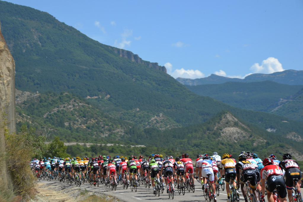 tdf2015_stage17_peloton_rides_together