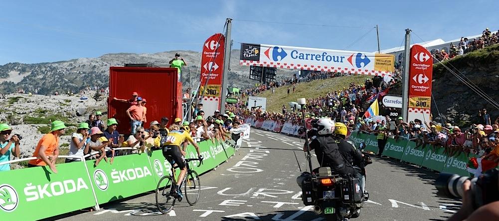 2015, Tour de France, tappa 10 Tarbes - La Pierre Saint Martin, Team Sky 2015, Froome Christopher, La Pierre Saint Martin
