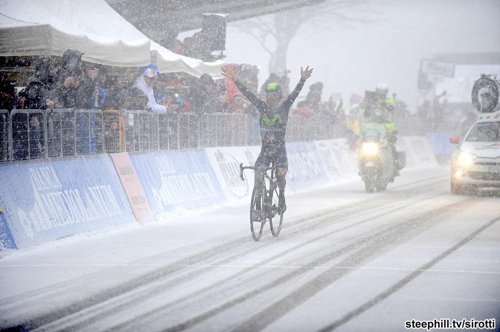 2015, Tirreno - Adriatico, tappa 05 Esanatoglia - Terminillo, Movistar 2015, Quintana Rojas Nairo Alexander, Terminillo